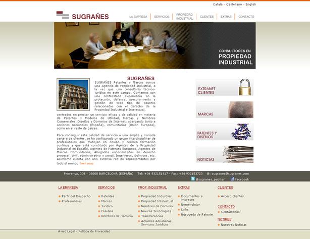 Marcas y Patentes Sugrañes